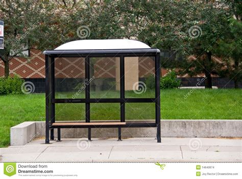 bus stop bench bus stop bench stock images image 14640674