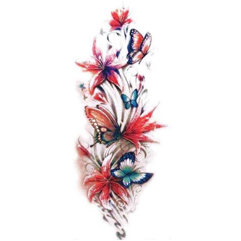 tatouage fleur papillon galerie tatouage