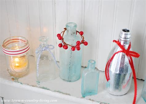how to decorate bottles for christmas live creatively