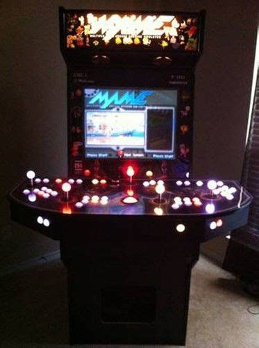 4 person arcade cabinet mame arcade cabinet pc 4 player led controllers 27 screen