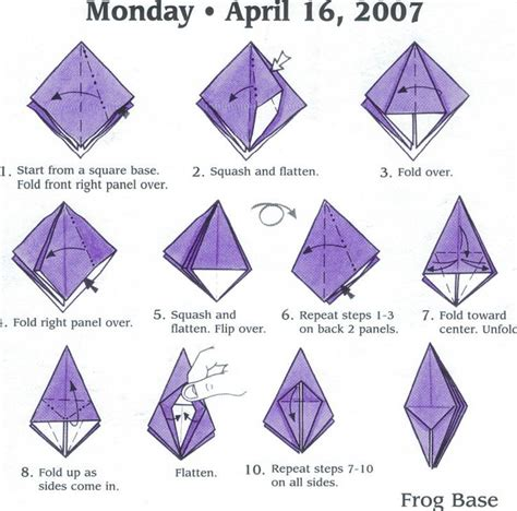 Origami Base - 17 best images about origami basic shape on