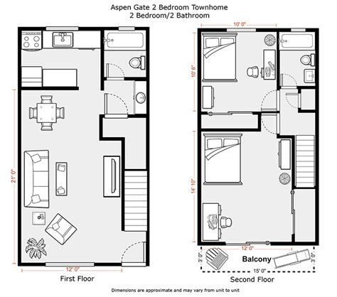 650 sq ft floor plan 2 bedroom