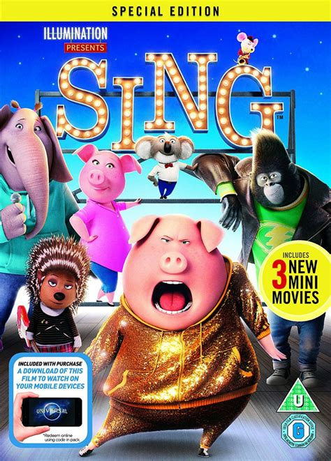Dvd Sing sing dvd review and plush giveaway 40 and a