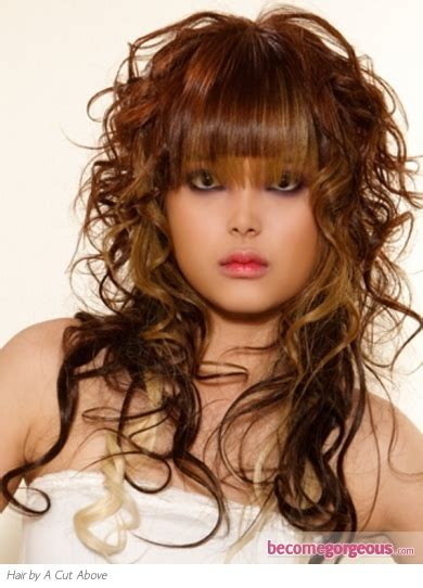 edgy hairstyles for curly long hair pictures long hairstyles long edgy layered hair style