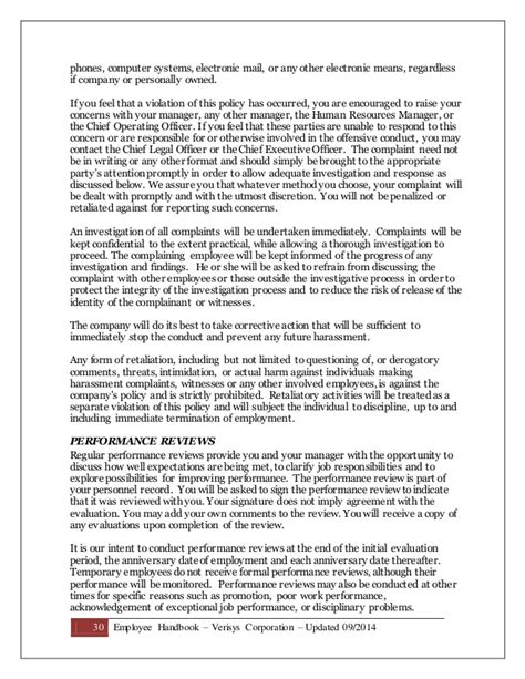 Promissory Note Template Washington State Template Resume Employee Handbook September 2014 Employee Handbook Template Washington State