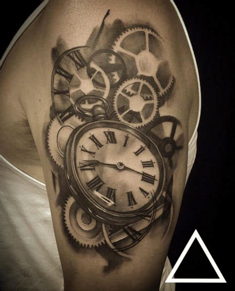 200 popular pocket watch tattoo and meanings may 2018