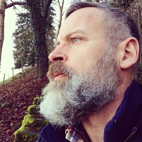 long salt and pepper beards full thick gray beard and mustache beards bearded man men