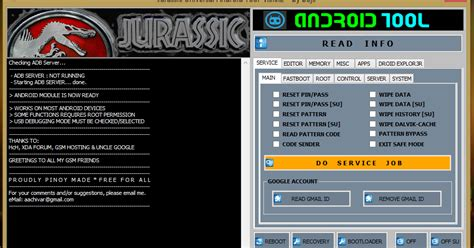 android software reset code jurassic uniandroid tool v 5 0 2 forumnds com