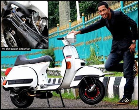 Cara Modifikasi Mesin Vespa Racing by Modifikasi Vespa Racing Modifikasi Motor