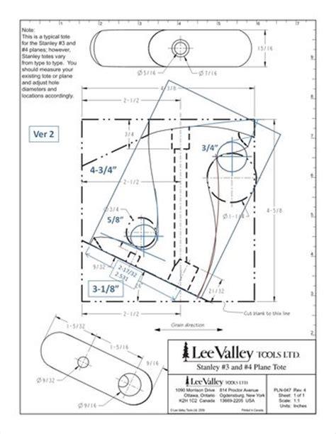 handplanes  custom hand plane totes stanley lv