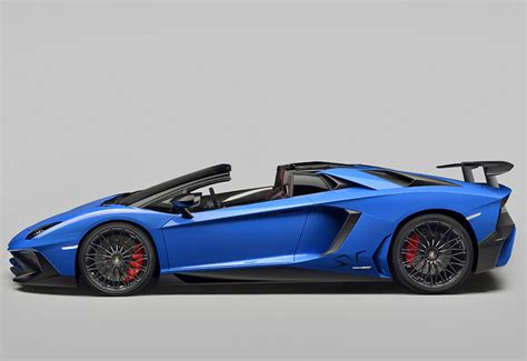 2016 lamborghini aventador lp750 4 sv roadster specifications photo price information rating