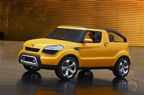 Kia Ute Hyundai Considers Truck For Us Market Could They