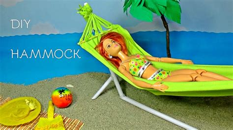 Doll Hammock by Doll Hammock Diy How To Make Doll Hammock Diy For Dolls