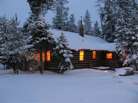 christmas mountain cabins