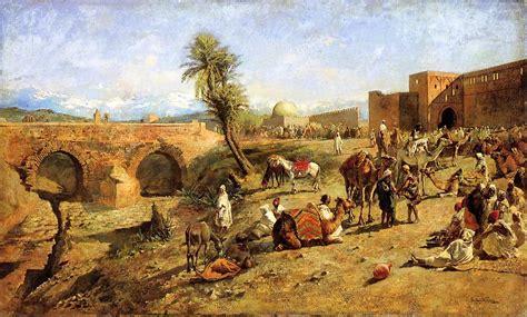 moroccan art history caravan travellers wikipedia