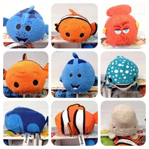 Tsum Tsum Navy finding dory destiny mini plush