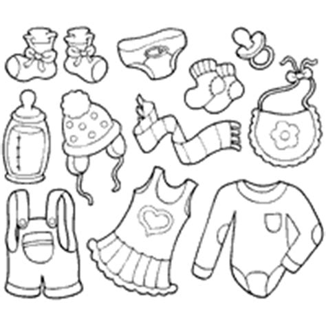 baby clothes 187 coloring pages 187 surfnetkids