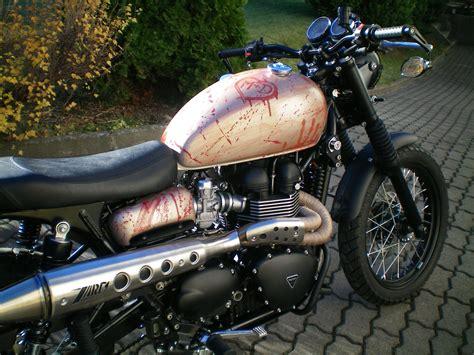 Motorr Der Mieten Chemnitz by Umgebautes Motorrad Triumph Scrambler Triumph World