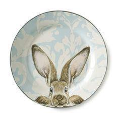Southern Living Easter Tuft Bunny Salad Plate #Dillards