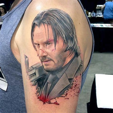 keanu reeves tattoo done by david corden keanureeves keanu reeves