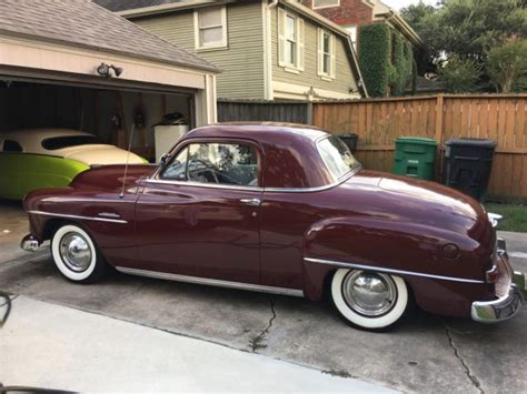 1951 plymouth concord business coupe for sale in houston