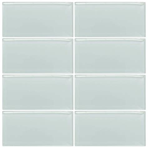 glass tiles jeffrey court morning mist 3 in x 6 in glass wall tile