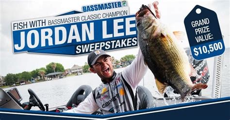 Bassmaster Sweepstakes - bassmaster fish with jordan lee sweepstakes see what you can win