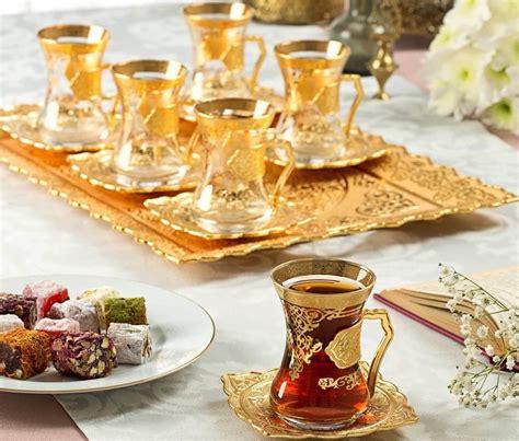 Arabic Set arabic tea set for six with tray fairturk