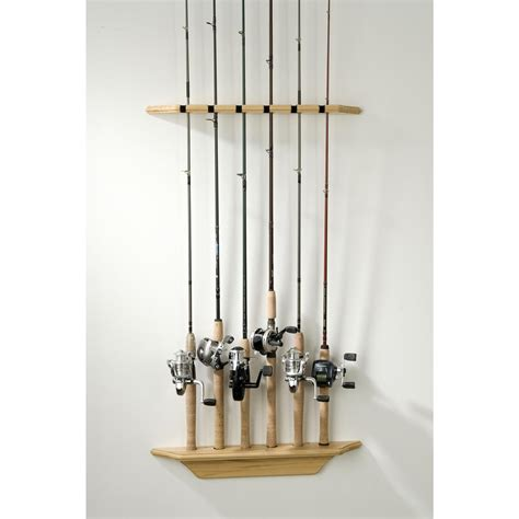 How To Build A Fishing Pole Rack by Fishing Rod Wall Rack Plans Plans Free