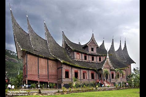 rumah adat godang gt traditional house beautiful indonesia umm