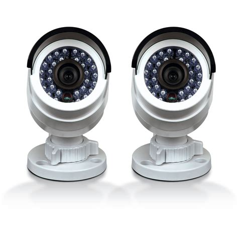 Cctv Outdoor 3mp 3 swann 3mp outdoor bullet pack of 2 conhd b3mpb2 us b h