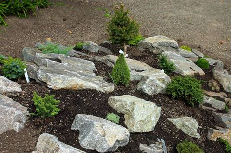 Garden Rocks Ideas River Rock Garden Ideas Home And Garden Design