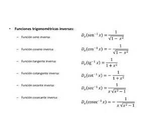derivada de coseno cuadrado 4 derivada f trigonometricas