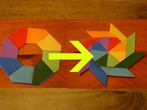Things To Do With Origami Paper - how to make a transforming easy things to