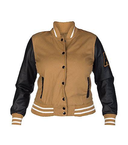 Jaket Varsity Brown varsity jacket brown jackets review