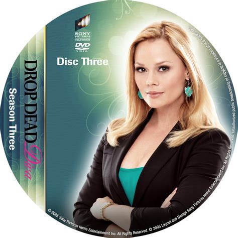 drop dead seasons drop dead season 3 disc 3 custom dvd labels drop