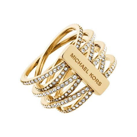 Michael Kors Ring by Michael Kors Statement Ring Mkj4422710 Francis
