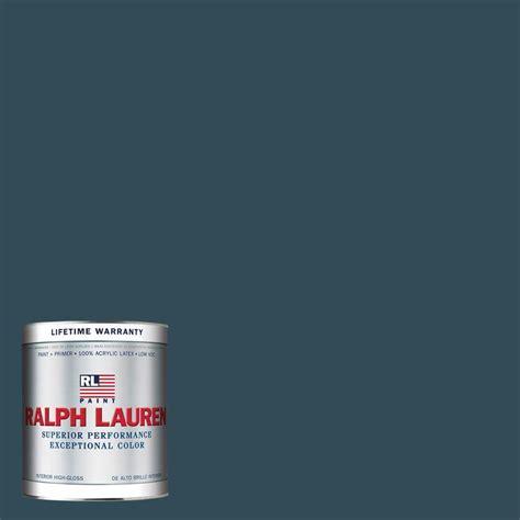 home depot paint sheen ralph 1 gal oculus blue eggshell interior paint