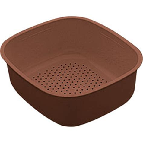 Kitchen Sink Strainer Bowl Franke Compact Cpx621 Kitchen Sink Brown Strainer Bowl 112 0036 813