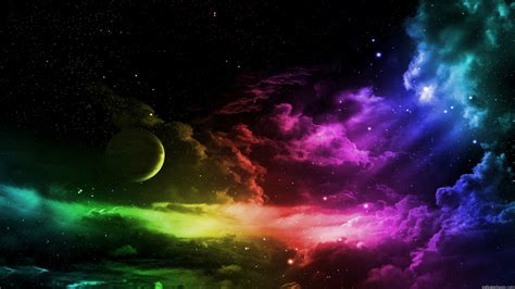 Colorful Galaxy Wallpaper Hd | colorful galaxy wallpaper hd pics about space
