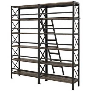 wood shelving units industrial wood shelving unit brickell collection modern