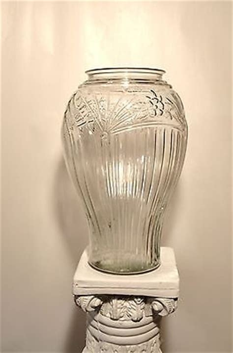 Large Clear Glass Vases For The Floor Floor Vase Collection On Ebay