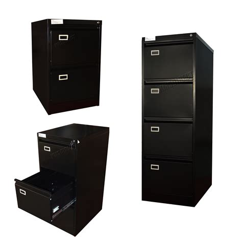 A4 Filing Drawers by Foxhunter Steel A4 Filing Cabinet With 2 3 4 Drawer Storage Office Furniture New Ebay