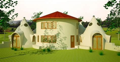 round home design plans roundhouse dome cluster plan