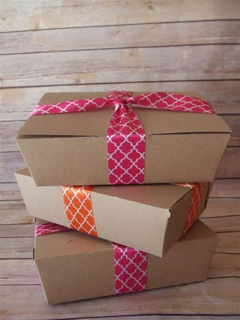 Paper Box Lunch Ukuran M kraft lunch box paper food boxes picnic