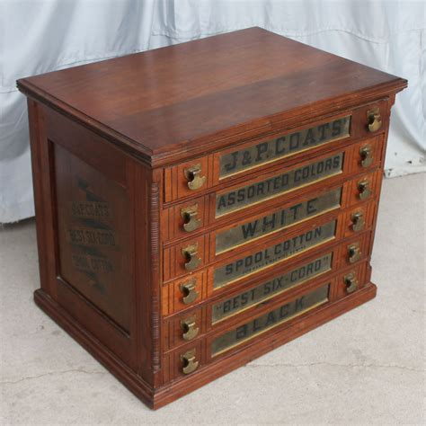 Spool Cabinet bargain s antiques 187 archive walnut six drawer