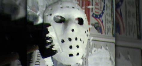 How To Make A Jason Mask Out Of Paper - how to make a jason voorhees mask for or other