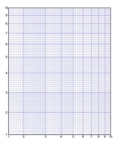 math paper template printable graph paper free documents in pdf