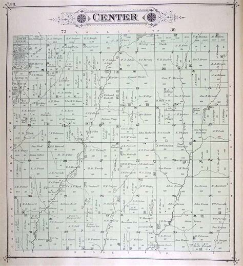 plat maps iagenweb pottawattamie co iowa plat maps 1885