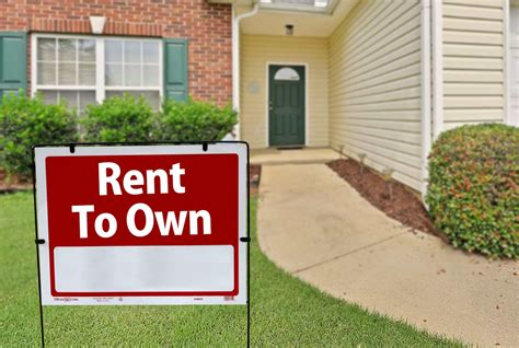 house for rent to own is rent to own home a good idea